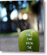 Fall Far From The Tree- Art By Linda Woods Metal Print