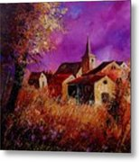 Fall In Ardennes  Metal Print