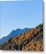 Fall In Gstaad Metal Print