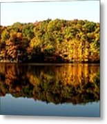 Fall In Indiana Metal Print