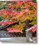 Fall In Japan Metal Print