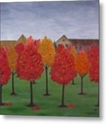 Fall In Markham Metal Print