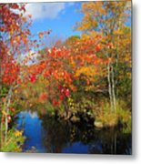 Fall In New England Metal Print