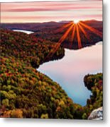Fall In Northern Vermont Metal Print