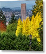 Fall In Portland Or Metal Print