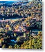 Fall In Shenandoah Valley Metal Print