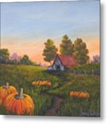 Fall In The Air Metal Print
