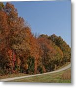 Fall In The Country Metal Print