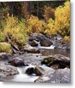 Fall In The Grand Tetons Metal Print