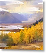 Fall In The Rockies Metal Print