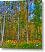 Fall In The Swamp Metal Print