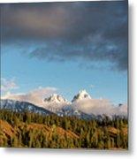 Fall In Wyoming Metal Print