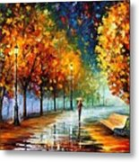 Fall Marathon Metal Print