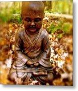 Fall Meditation Metal Print