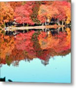 Fall Morning In East Lyme 2 Metal Print