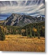 Fall Mountain Metal Print