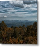 Fall On The All American Road Metal Print