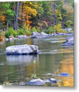 Fall On The Maury Metal Print