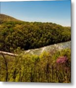Fall On The Shenandoah River - West Virginia Metal Print