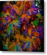 Fall Painting By Mother Nature Metal Print
