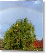 Fall Rainbow Metal Print