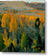 Fall Ridge Metal Print