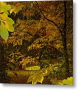 Fall Spendor - Series Number Three Metal Print