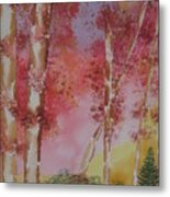 Fall Sunshine Metal Print