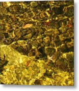 Fall Under The Water Metal Print
