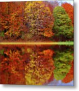 Fall Waters Metal Print