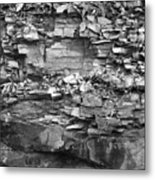 Fallen Rocks Metal Print