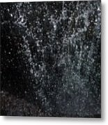 Falling Cavern Cascade Watkins Glen Metal Print
