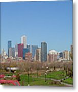 Falling For Chicago Metal Print