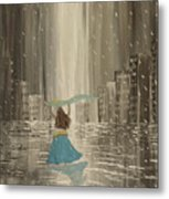 Falling Out Of Love Metal Print