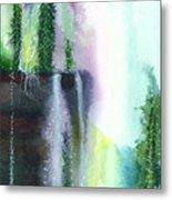 Falling Waters 1 Metal Print by Anil Nene