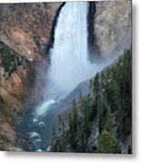 Yellowstone National Park Waterfalls Metal Print