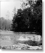 Falls In Creek Downstream From Glen Metal Print