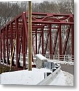 Falls Village Bridge 1 Metal Print