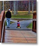 Family - A Father's Love Metal Print