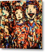 Family And Friends Metal Print