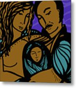 Family Is A Sanctuary Metal Print