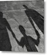 Family Of Shadows Metal Print