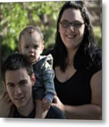 Family Photography Metal Print