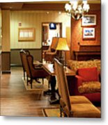 Family Room For Performers Grand Ole Opry House, Nashville, Tennessee Metal Print