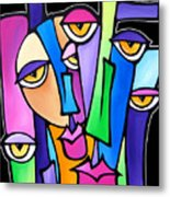 Family Time Metal Print by Tom Fedro - Fidostudio