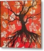 Family Tree Metal Print