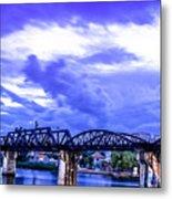 Famous Bridge Metal Print