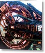 Famous Liberty Bike Copper Ny Metal Print
