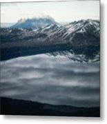 Famous Mountain Askja In Iceland Metal Print