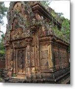 Famous Temple Banteay Srei Cambodia Asia  Metal Print